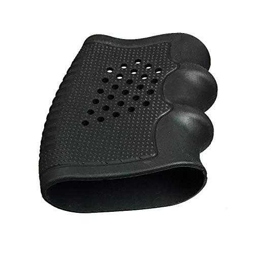 NO-LOGO Lixia-Poignées, Tactique Gun Grip Grip Slip Grip Accessoire sur Gant en Caoutchouc Couverture Noir Compatible avec Pistolet Taurus,