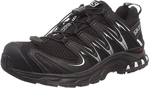 Salomon XA Pro 3D W - Zapatillas para mujer, Negro (Black / Black / White), 36 EU
