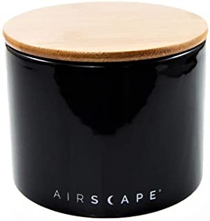 Airscape Ceramic Coffee and Food Storage Canister, 4