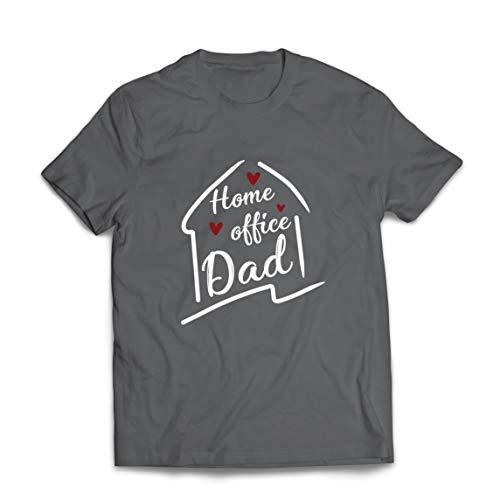 lepni.me Camisetas Hombre Ministerio del Interior El Traje de papá Distanciamiento Social (XX-Large Grafito Multicolor)