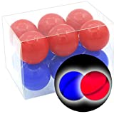 The Dark Beer Pong Games - Light-Up for Indoor and Outdoor Party, Bachelor, Game Night, LED Table Tennis,...