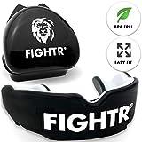 FIGHTR Paradenti di alta qualità | max.Ossigeno e Sicurezza + semplice adattamento | Para...