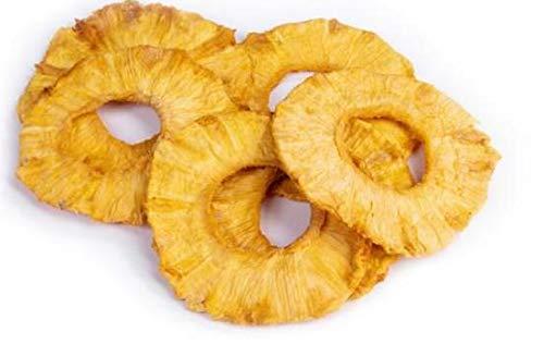 Naturkost Schulz - Köstlich-aromatische Ananas Ringe - vollreif & ohne Zuckerzusatz - 1 Kg