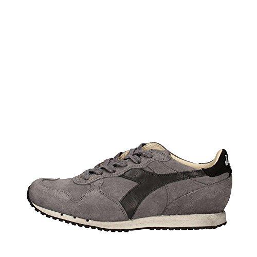 Diadora Heritage, Uomo, Trident S SW Gray, Suede / Pelle, Sneakers, Grigio, 44 EU