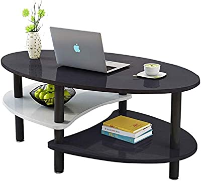 Selected Furniture/Coffee Table Living Room Coffee Table Solid Wood Tea Table Black Coffee Table Oval Coffee Table Household Coffee Table Small Mini Coffee Table European Style Table