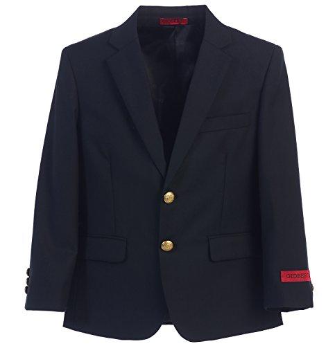 Gioberti Little Boys Formal Navy Blazer Jacket, Size 2T