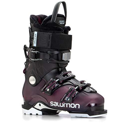 Salomon Damskie buty narciarskie Botas Alpinas Qst Access 80, Czarny B, 42 EU