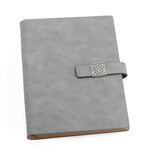 HYAN De Hojas Sueltas 80 Hojas del Cuaderno Espiral Business Notebook A5 Actas de la Conferencia Grueso clásico Notebook Hardcover Escritura Bloc de Notas (Color : B)