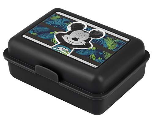 Baagl Brotdose Kinder für Schule – Lunchbox für Mädchen, Jungen, Kindergarten – Jausenbox, Brotzeitbox, Brotbox, Snackbox (Mickey)