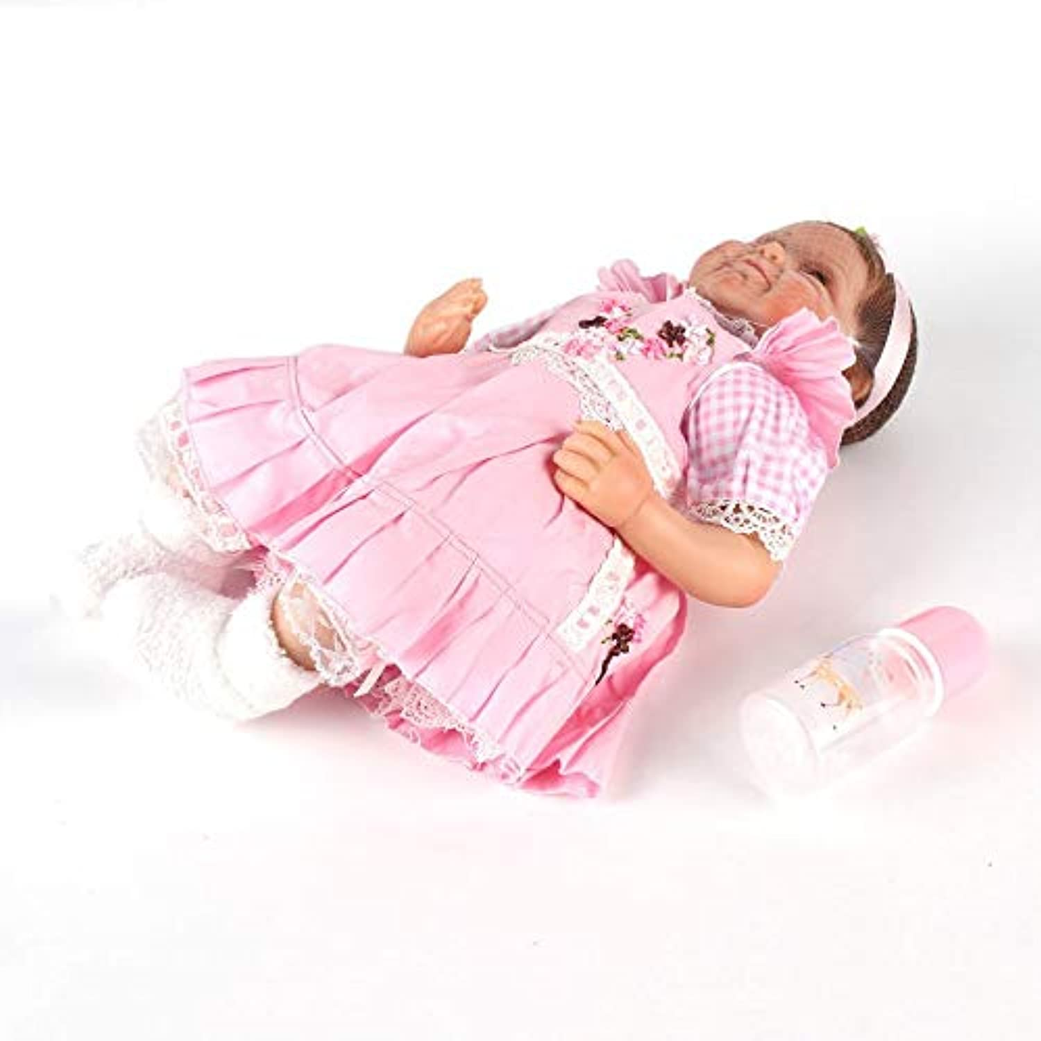Candybar Girls Smile Realistic Lifelike Silicone Reborn Newborn Baby Doll Realike Play House Toy Exquisite Birthday Present