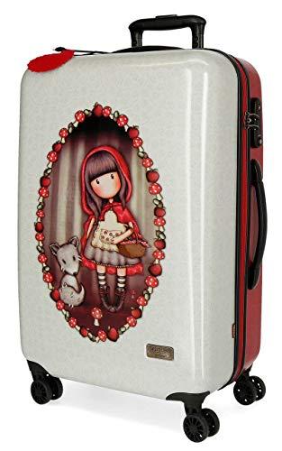 Maleta Mediana Gorjuss rígida 67cm Little Red Riding Hood