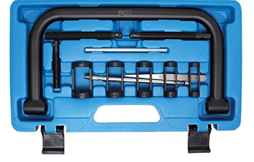 BGS 1768 | Ventilfederspanner-Satz | 16 - 30 mm | Bügelhöhe 100 mm | inkl. 5 auswechselbare Druckstücke