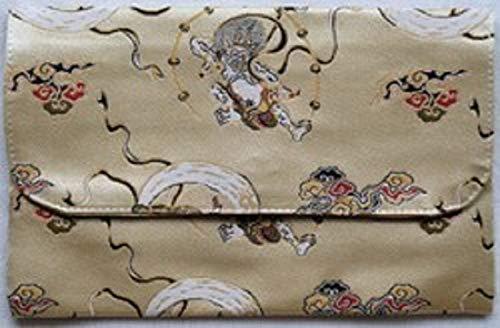 昔ながらの職人作りの御朱印帳 特上金襴 御朱印帳袋 ハンドメイド ふくさ型御朱印帳袋 かわいい 和柄 FK-113F