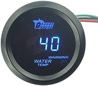 PIXNOR Coche Auto Agua LED Digital Indicador de Temperatura (Azul)