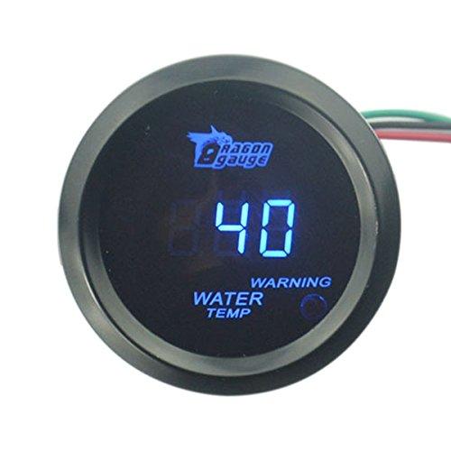 PIXNOR Auto Digital LED Kühlwasserthermometer (blau)