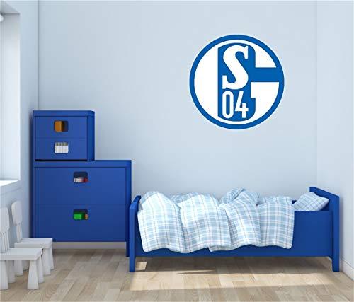 wandtattoos feuerwehr sam FC Schalke 04 Bundesliga Fußball Sticker Zimmer Schlafzimmer für Wohnzimmer für Jungen Zimmer