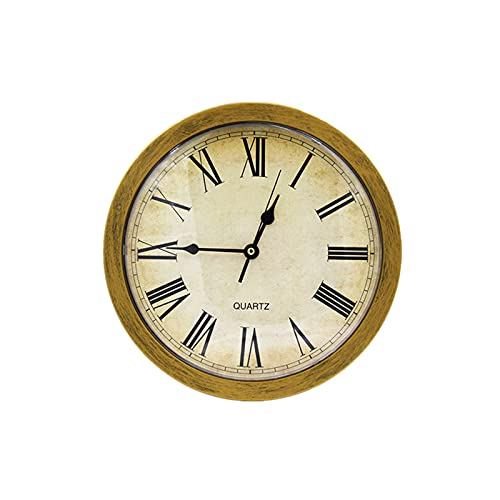 Alupre Clock Safe, Vintage Wall Clock Safe Box Caja de almacenamiento secreta Reloj de pared Safe Money Joyería Almacenamiento de objetos de valor