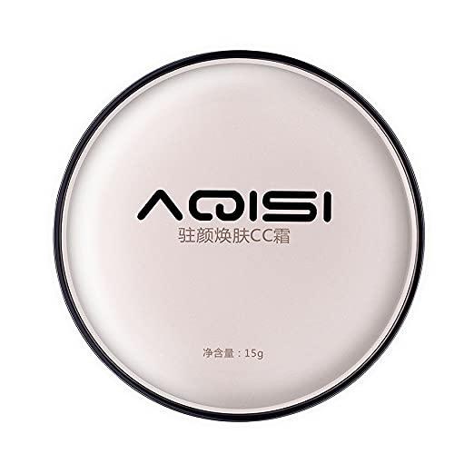 Kongqiabona-UK Protector Solar Cojín de Aire CC Crema Corrector Base hidratante Maquillaje blanqueador Desnudo para Maquillaje de Belleza Facial