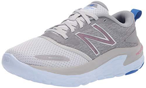 New Balance Women's Fresh Foam Altoh V1 Running Shoe, Light Aluminum/Cobalt, 8.5
