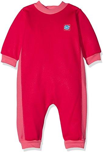Spatje over kinderen warm in een baby wetsuit
