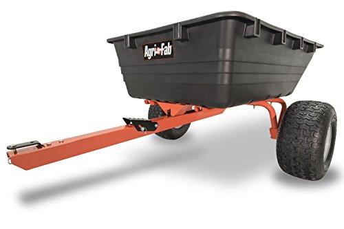 Agri-Fab 45-0529 ATV Swivel Dump Cart, 17 cu.ft, Orange/Black