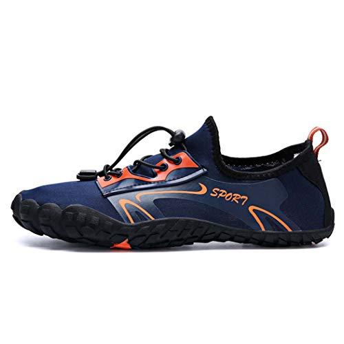 GGPUS Water berg sneakers, mannen en vrouwen waden schoenen anti-slip duiken schoenen strand schoenen paar modellen zwemschoenen, Blauw, 41/42