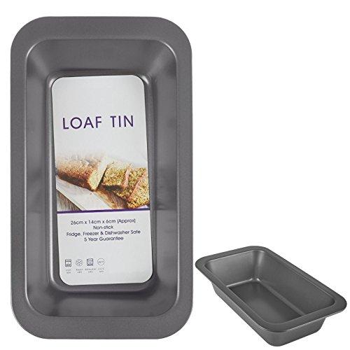 ASAB Grand moule à pain rectangulaire en acier carbone anti-adhésif pour fabrication de gâteaux
