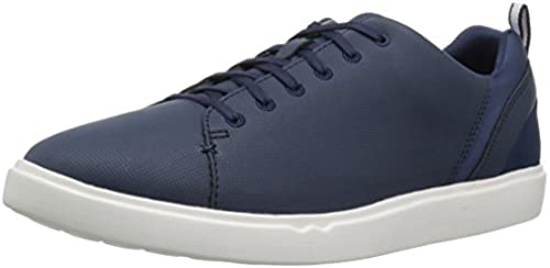 CLARKS Men& 039;s Step Verve Lo Turnschuhe, Navy Perfed Microfiber, 9 Medium US