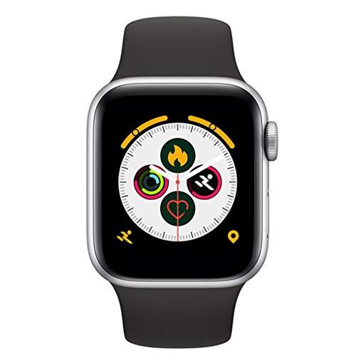 Smart-Armband-Farbe-Schirm-Noten-Sport-Uhr Bluetooth Anruf Anschauen Herzfrequenzinformationen Erinnerung (Color : Black)