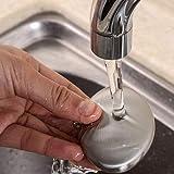 WZhen Magie Beseitigung Geruch Edelstahl Desodorierende Seife - Silber