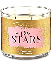 Bath & Body Works In The Stars Bergamot, Water Lily, Amber 3-Wick Candle 411 g
