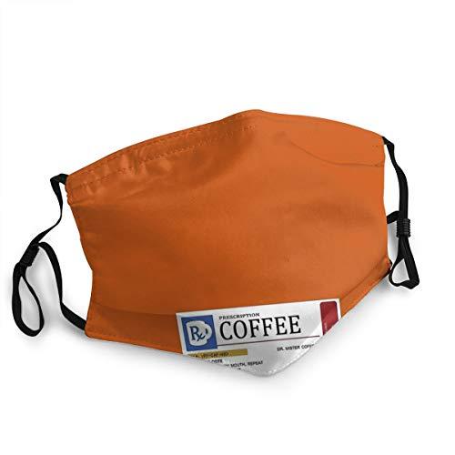 NA Prescription Tazza da caffè riutilizzabile, protezione anti-polvere regolabile Earoop Face Cover Polline Anti-smog Bocca Copertura