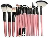 Cepillo de la Fundación Sintética Premium 10/15 / 18pcs Pinceles de maquillaje Set Powder Foundation Eyeshadow Blending Cepill Cosmetics Maquillaje Herramientas de belleza Maquiagem Kits Conjunto de p