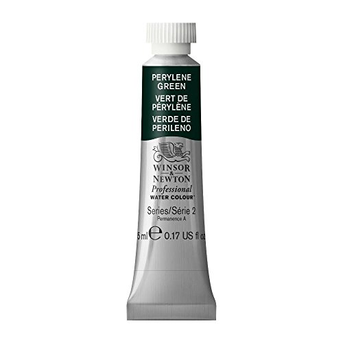 Winsor & Newton Professional Water Colour Paint, 5ml tube, Perylene Green