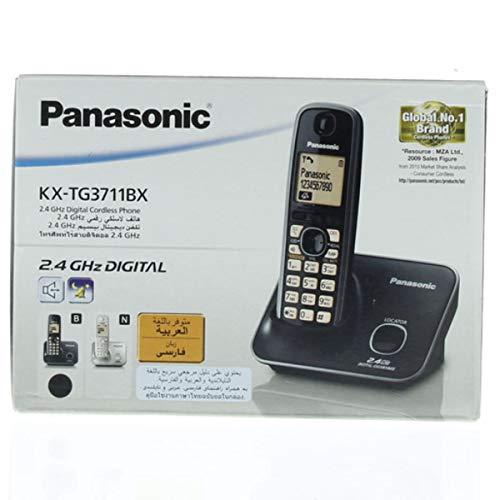 Panasonic KX-TG3711BX Cordless Phone (Black)