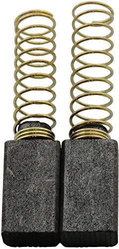 Escobillas de Carbón para MILWAUKEE PD2-18/Z taladro - 5x8x14mm - 2.0x3.1x5.5