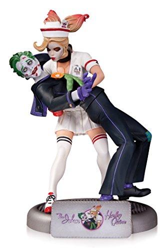 DC Comics May150291 1st Edition Bombshell Joker et Harley Quinn Statue