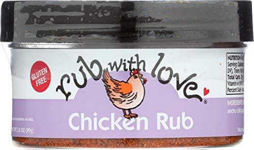Rub with Love, Chicken Rub, 3.5 oz