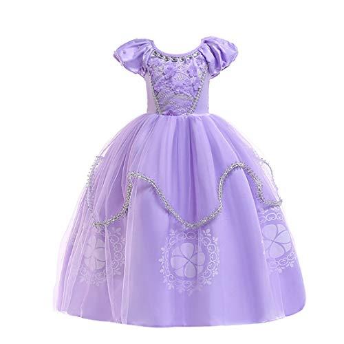 ソフィア ドレス コスチューム なりきりキッズドレス 子供 お姫様 プリンセスドレスお姫様 ワンピース ディズニーお姫様ドレス 女子ちいさなプリンセス ソフィア (150cm ソフィア ドレス)