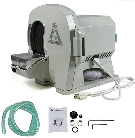 lqgpsx Trimmer Dental de Modelo húmedo, Equipo de Laboratorio de Rueda de Disco abrasivo, máquina Interna de Arco de Yeso JT-19