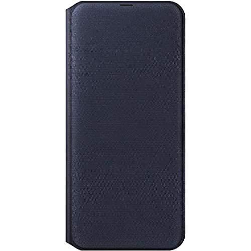 SAMSUNG EF-WA505 WALLET COVER BLACK GALAXY A50, Nero