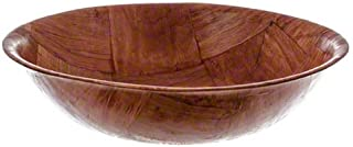 American Metalcraft RWW8 Woven Woodenware Round Shape Bowl, 8-Inch