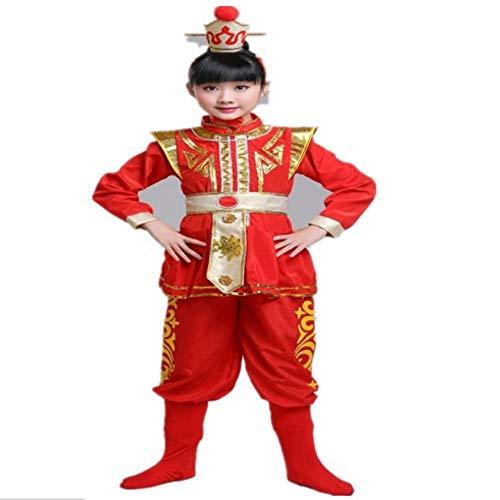 GUAN Disfraces de Mulan Rojo de Halloween Disfraces de Tambores ...