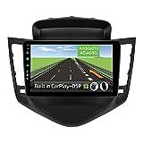 YUNTX Android 10 2 DIN Autoradio para Chevrolet Cruze(2009-2014) - 4G+64G - [Integrado CarPlay/Android Auto/DSP] - Octa Core - Gratuitos 4LED Cámara&Mic -Soporte Dab/Control del Volante/Bluetooth 5.0