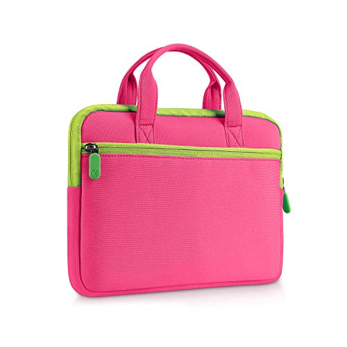 VANKYO 7 inch Tablet Sleeve Bag, Fits with MatrixPad S7, Z1 Kids Tablet, iPad Mini 4 3 2 1, Galaxy Tab A 8.0 and Dragon Touch Y88X Plus/Y88X/M7 Kids Tablet, Pink