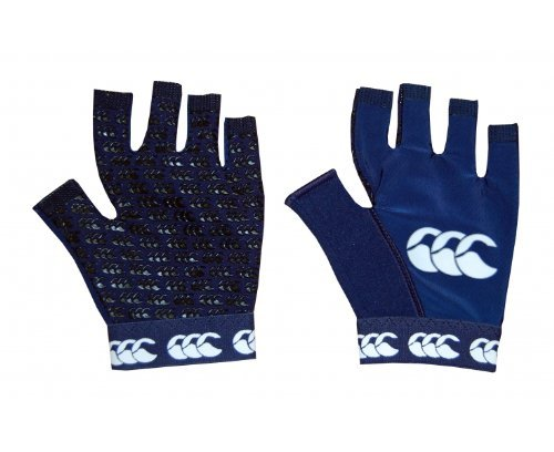 Canterbury garçon Pro Grip Gant Noir, Medium Boys Large Bleu Marine