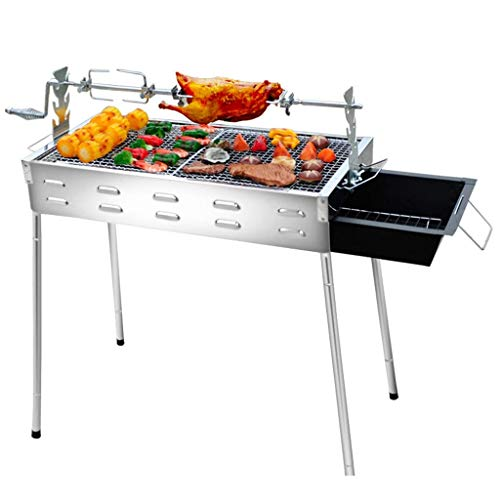 Best Buy! Nhlzj BBQ Supplies/Barbecue Easy Barbecues Tool Set Wild Garden Stainless Steel Oven Charc...