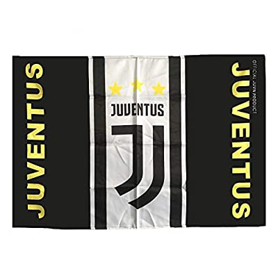 Louishop World Football Club Soccer Team Flag FC Banner for Wall Patio Garden Lawn Outdoor?Juven?37.5x25.6inch?