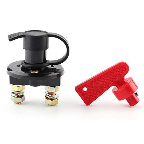 Interruptor principal de la batería, interruptor de corte de energía Alta corriente del automóvil Interruptor de apagado de la batería de la motocicleta Aislador maestro