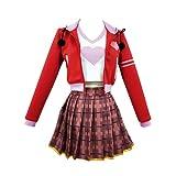 Astolfo Peluca Traje de Cosplay clásico japonés Escuela niñas Marinero Camisas de Vestir Uniforme Anime Conjunto Completo Cosplay